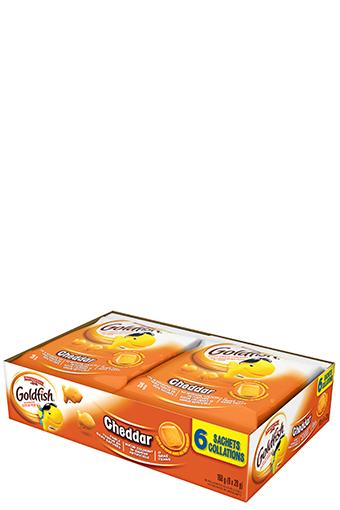 goldfish cheddar 28 g 6 pack
