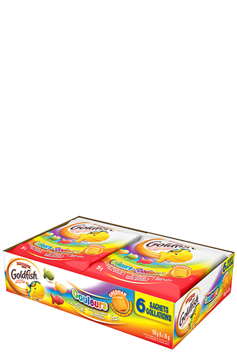 goldfish couleurs 26g 6 pack