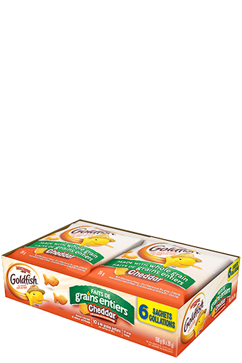 goldfish faits de grains entiers 26g 6 pack