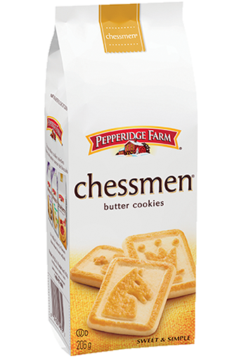 Pepperidge Farm® Chessmen Butter  Cookie
