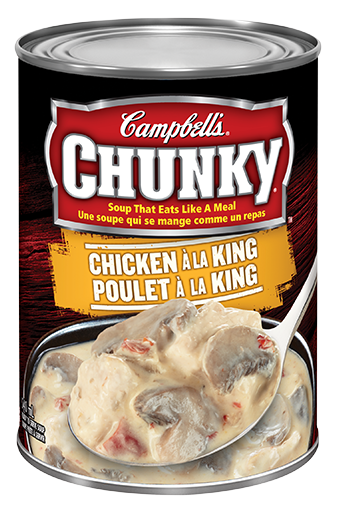 campbells chunky poulet la king 540 ml
