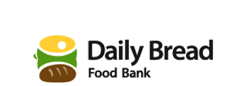 Daily Bread Food Bank logo and Chef Bob