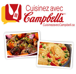 Cook with Campbell's logo and recipes