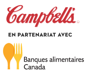 Campbell's logo and Food Banks Canada logo