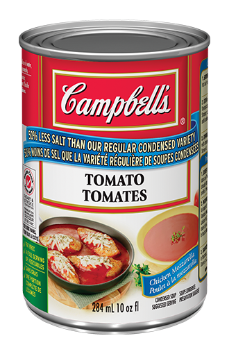 50% Less Sodium Tomato Soup