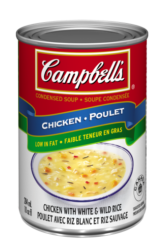 Campbell's® Chicken with White and Wild Rice soup