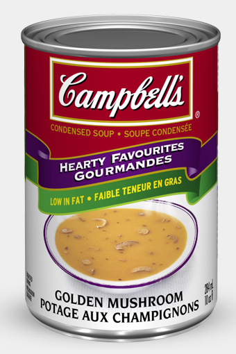 campbells condensed golden mushroom