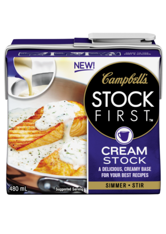 Campbell's STOCK FIRST™ Cream stock