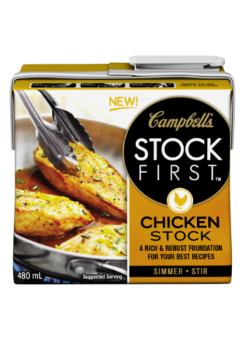 Campbell's STOCK FIRST™ Chicken stock