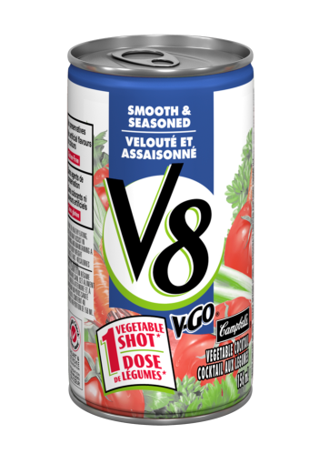 v8 smooth seasoned vegetable cocktail 156 ml