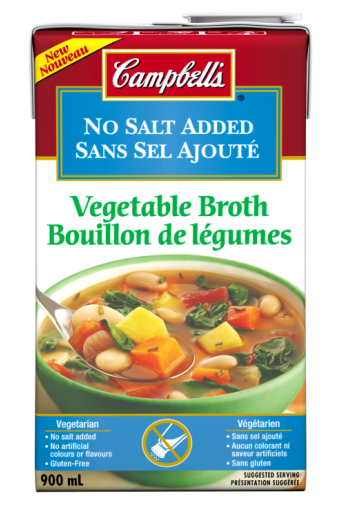 Campbell's No Salt Added Ready To Use Vegetable Broth