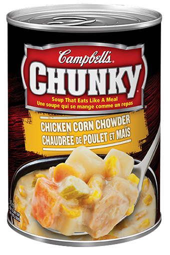 campbells chunky chicken corn chowder