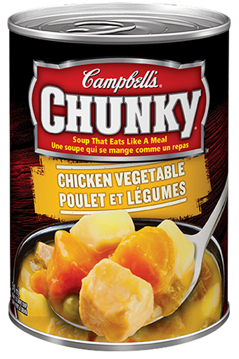 campbells chunky chicken vegetable 540 ml
