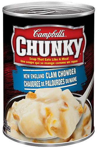 campbells chunky new england clam chowder