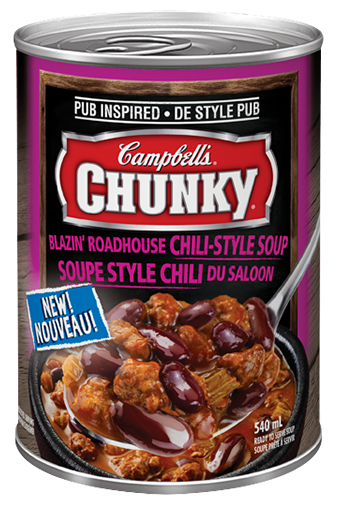 Campbell's Chunky Blazin' Roadhouse Chili-Style Soup