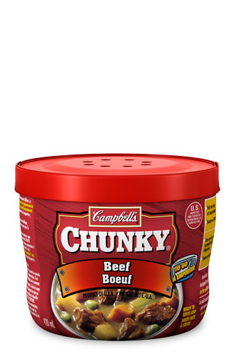 campbells chunky to go beef