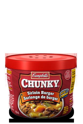 campbells chunky surlonge de burger emporter