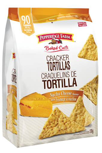 Pepperidge Farm Tortilla Crackers Nacho Cheese