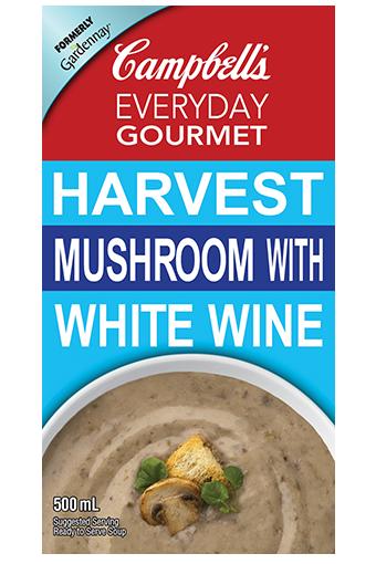 Everyday Gourmet Harvest Mushroom With White Wine