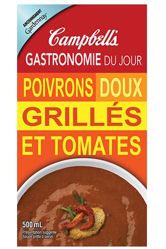 Gastronomie Du jour Poivrons Doux Grilles Et Tomates