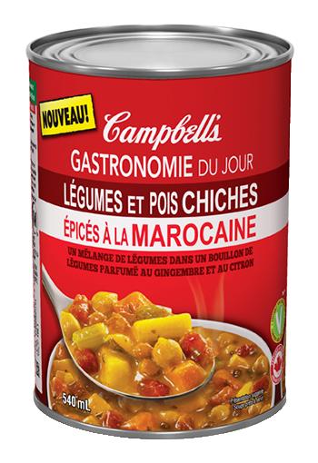 gastronomi du jour legumes et pois chiches epices a la marocaine