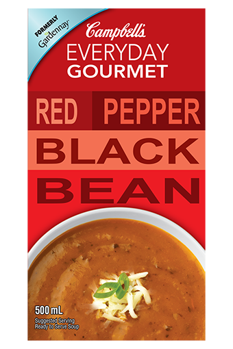 Red Pepper Black Bean