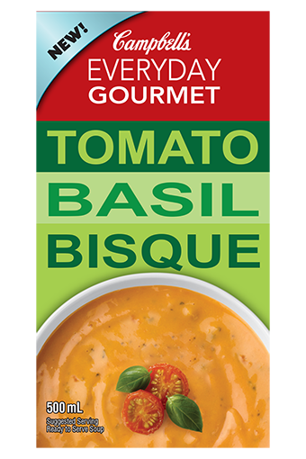 Everyday Gourmet Tomato Basil Bisque