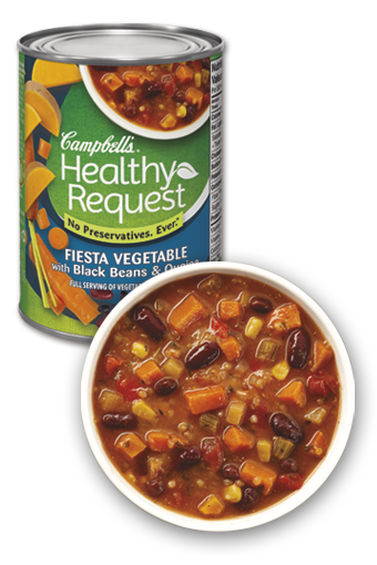 Campbell's Healthy Request® Fiesta Vegetable with Black Beans & Quinoa