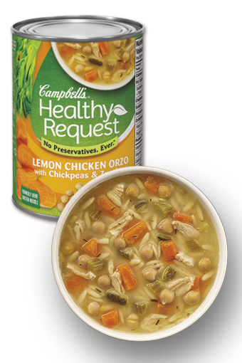 Campbell's Healthy Request Lemon Chicken Orzo