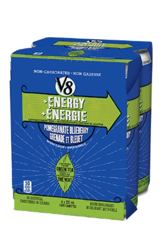 V8 + ENERGY™ Pomegranate Blueberry Multi-pack (4 x 237ML)