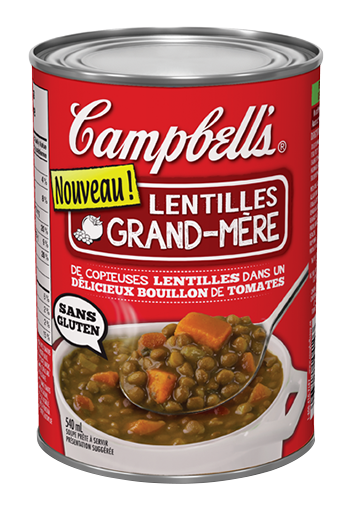 homestyle rustic lentil