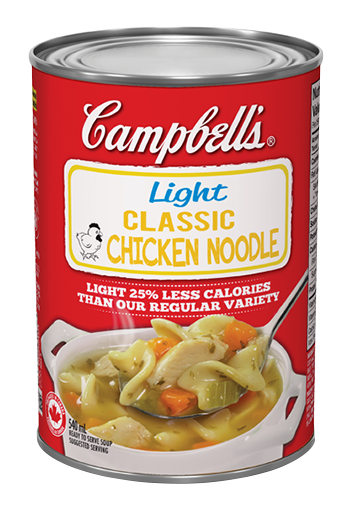 campbells light classic chicken noodle