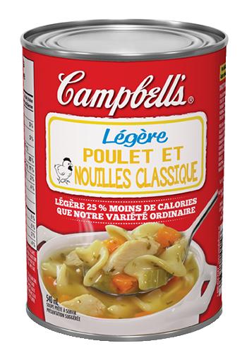 campbells prte dguster lgre poulet et nouilles classique