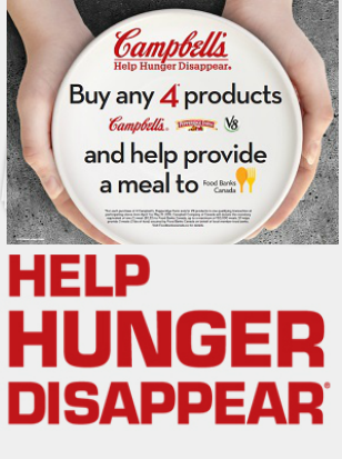 help hunger disappear campbells