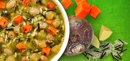 Campbell's Demande Santé Dinde Épicée légumes et rutabaga