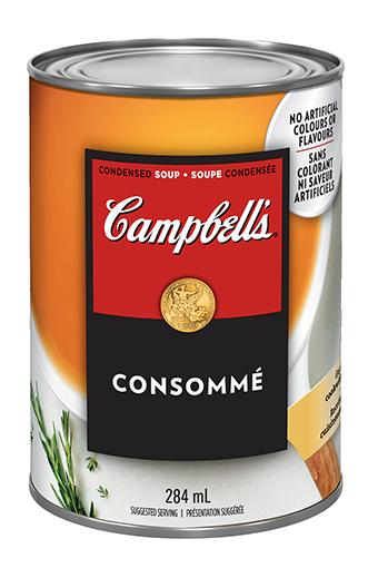 Campbell's condensée, Consommé