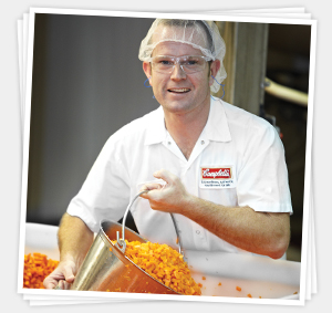 Campbell's factory worker