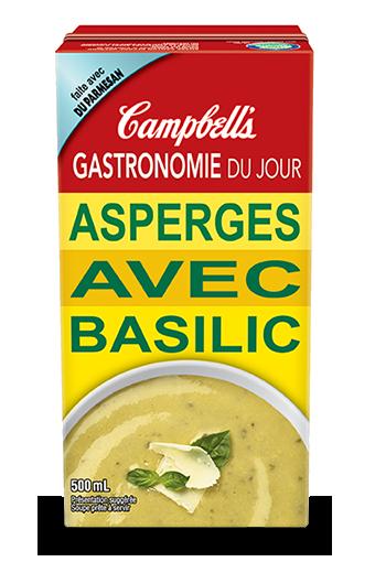 Gastronomie Du Jour Asperges Avec Basilic
