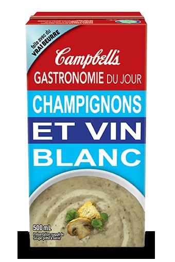Gastronomie Du Jour Champignons Et Vin Blanc