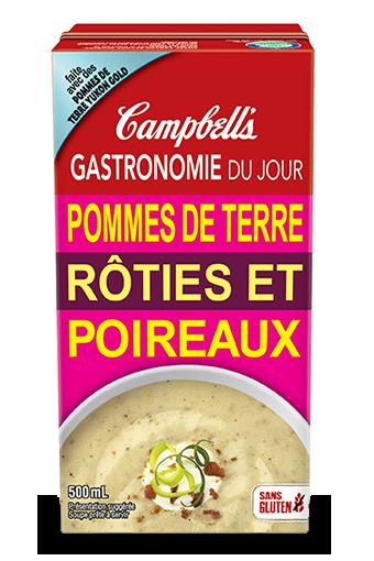 Gastronomie Du Jour Pommes De Terre Roties Et Poireaux