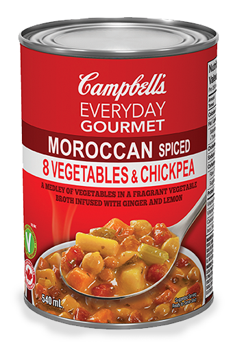 everyday gourmet morroccan spiced 8 vegetable and chickpea