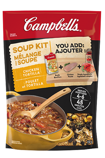 Campbell's Soup Kit - Chicken Tortilla
