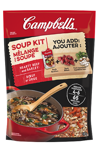 Campbell's Soup Kit  - Hearty Beef and Barley Soup