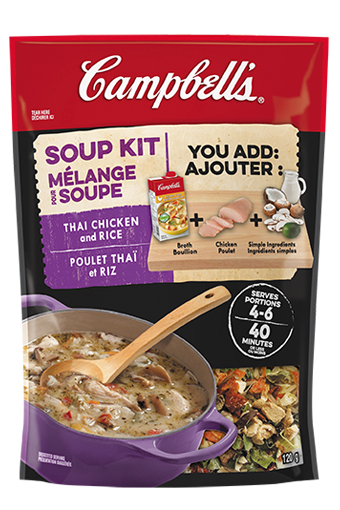 Campbell's Soup Kit - Thai Chicken and Rice