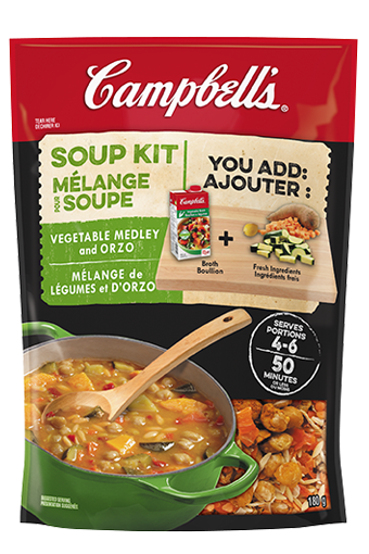 Campbell's Soup Kit - Vegetable Medley