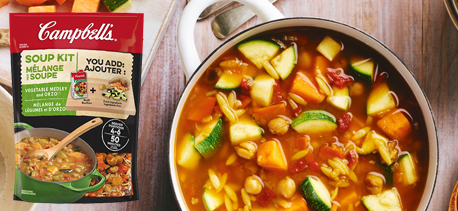 Vegetable Medley and Orzo soup kit