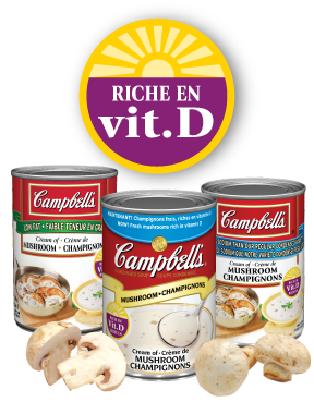 Campbell's Condensed Soup vitamin D varieties