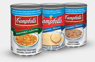 Campbell's Condensed Soup blue band varieties