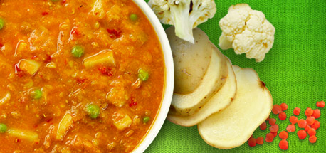 Campbell's Healthy Request® Curried Cauliflower Lentil