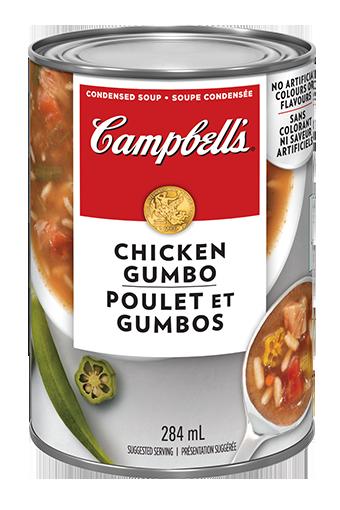campbells condense poulet et gombos